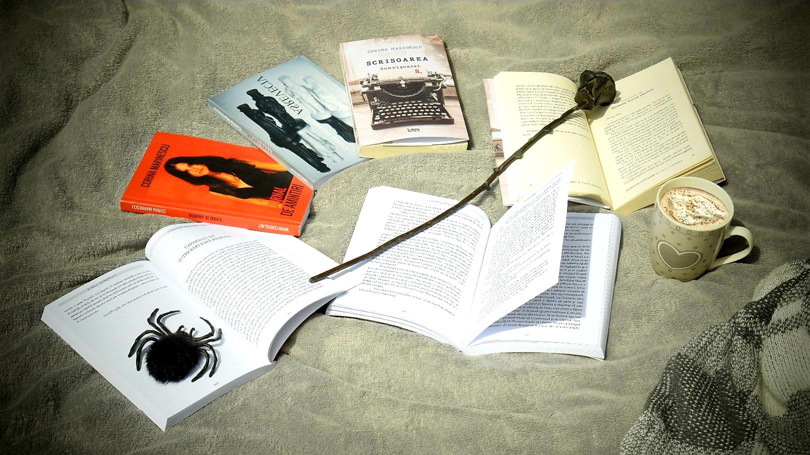 """Cărți semnate Corina Marinescu: """"Jurnal de Amintiri"""", """"Viceversa"""" și """"Scrisoarea domnișoarei S."""""""