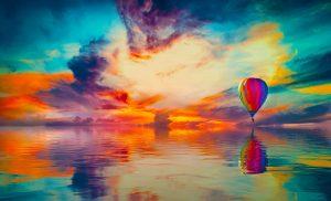 Zbor cu balonul cu aer cald – dorință