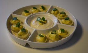 Ouă umplute vegane – O rețetă delicioasă