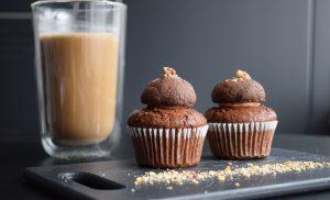 Triple vegan trouble – Brioșe, ciocolată și nutella cookies